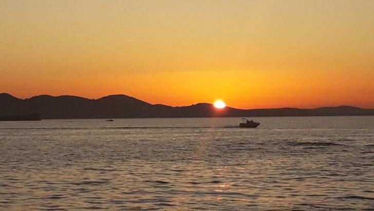 Zadar zachód słońca