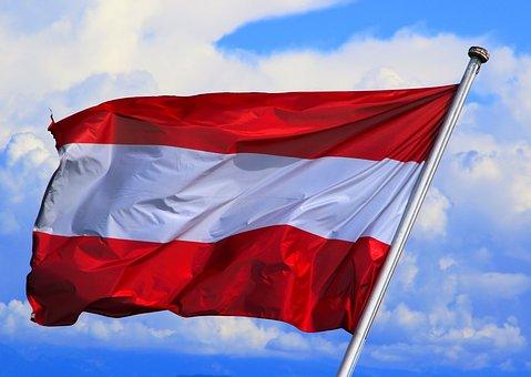 Flaga Austria