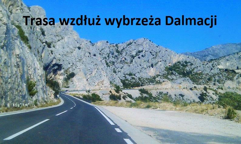 Trasa wzdłuż wybrzeża Dalmacji