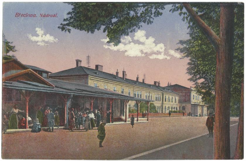 Brzecław dworzec kolejowy