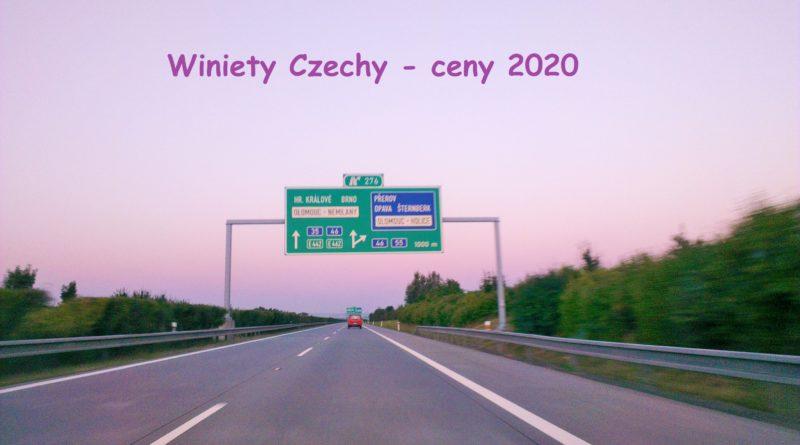 Winiety Czechy 2020