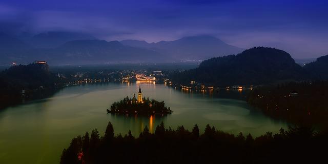Bałkany, Jezioro Bled