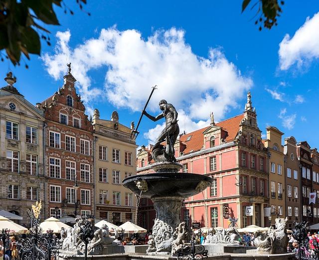 Atrakcje Gdańsk, Fontanna Neptuna