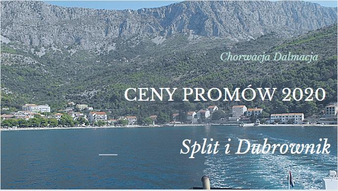 Rozkład promów Split i Dubrownik