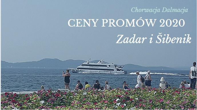 Cennik promów Zadar i Šibenik
