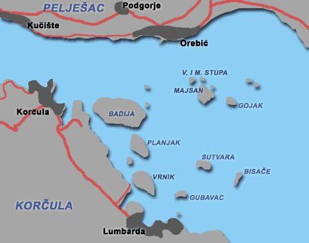 Wyspy naturystów Badija, Vela i Mala Stupa