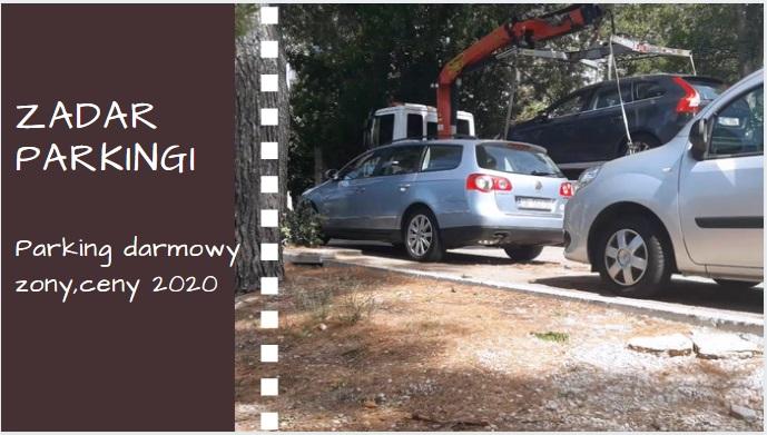 Parking Zadar 2020