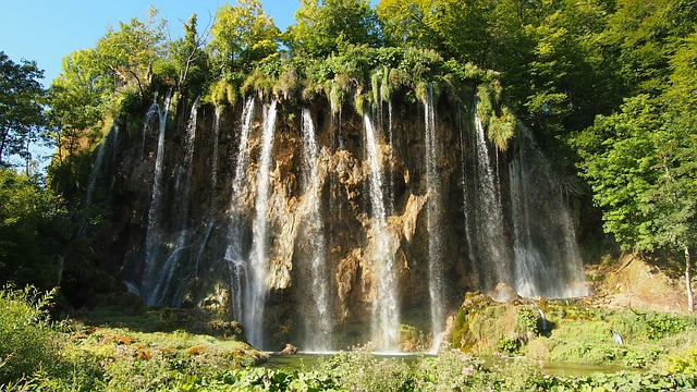 Chorwacja wodospady