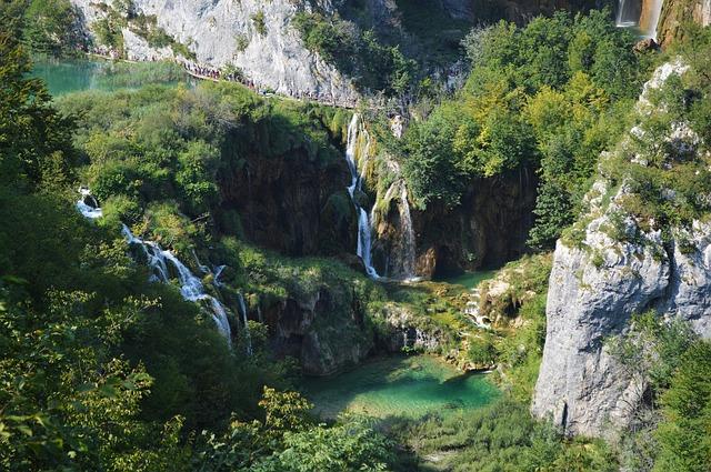 Wodospady Chorwacja, Plitwice