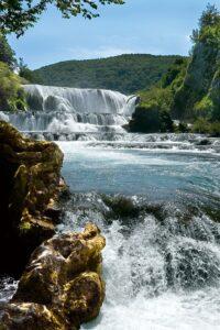 Wodospad na rzece Una