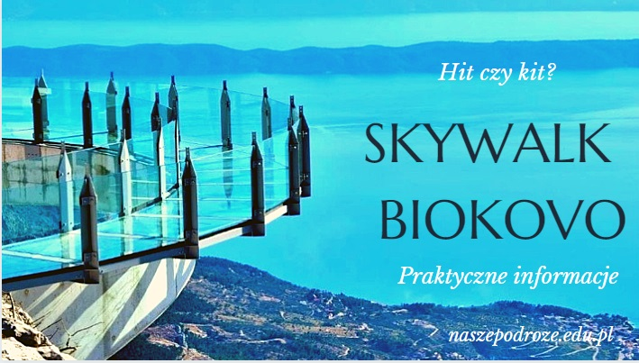Skywalk Biokovo