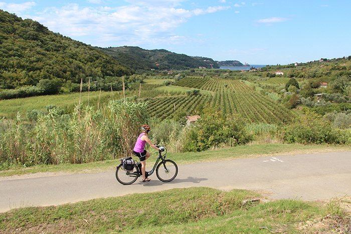 Trasa rowerowa Chorwacja