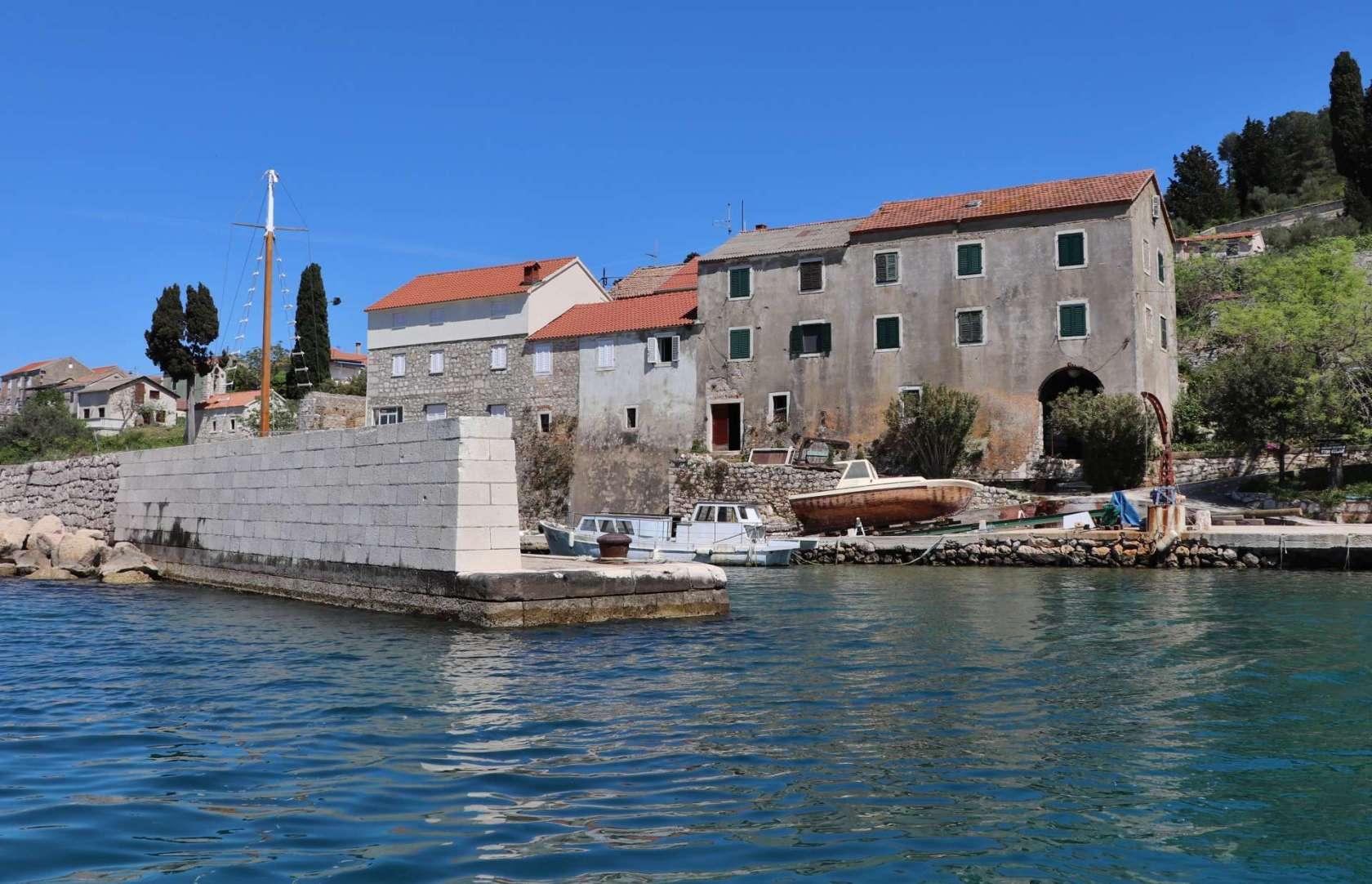 Osljak, Chorwacja wyspy